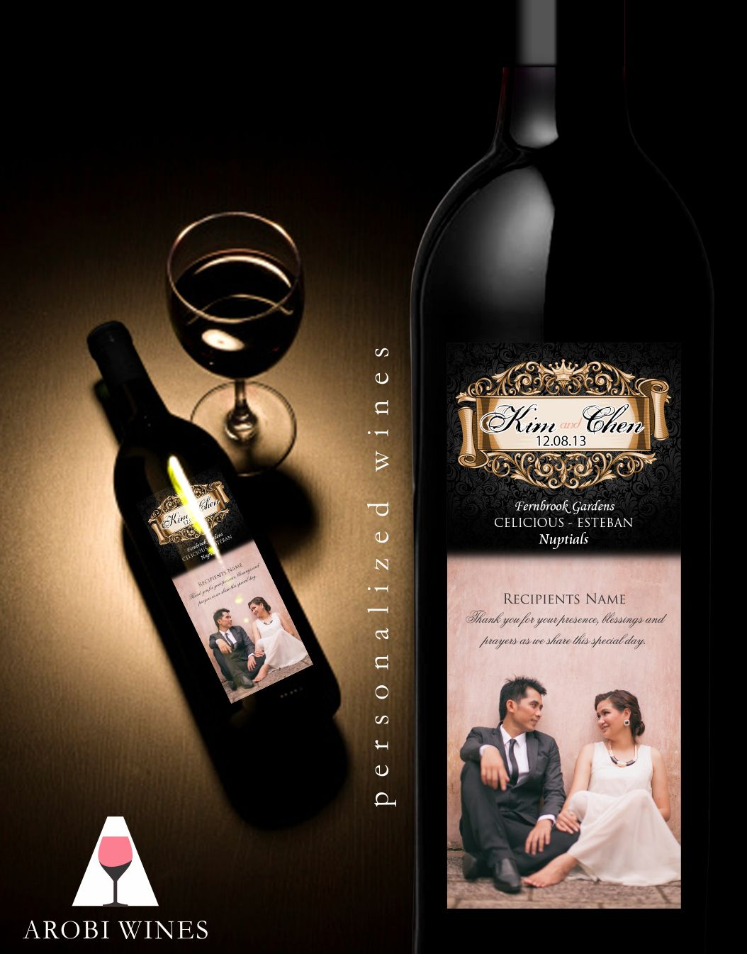 Arobi Wines Facebook Wine Wedding Souvenir Wine Wedding Wine Gifts
