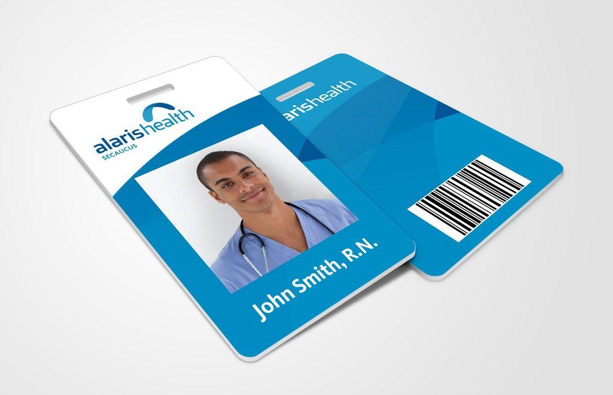 Tarjeta identificación de empleados, color por ambos lados con el ...