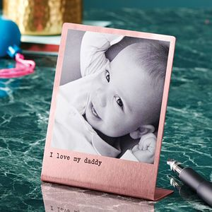 a63014fce136 Personalised Solid Copper Polaroid Print - gifts for friends