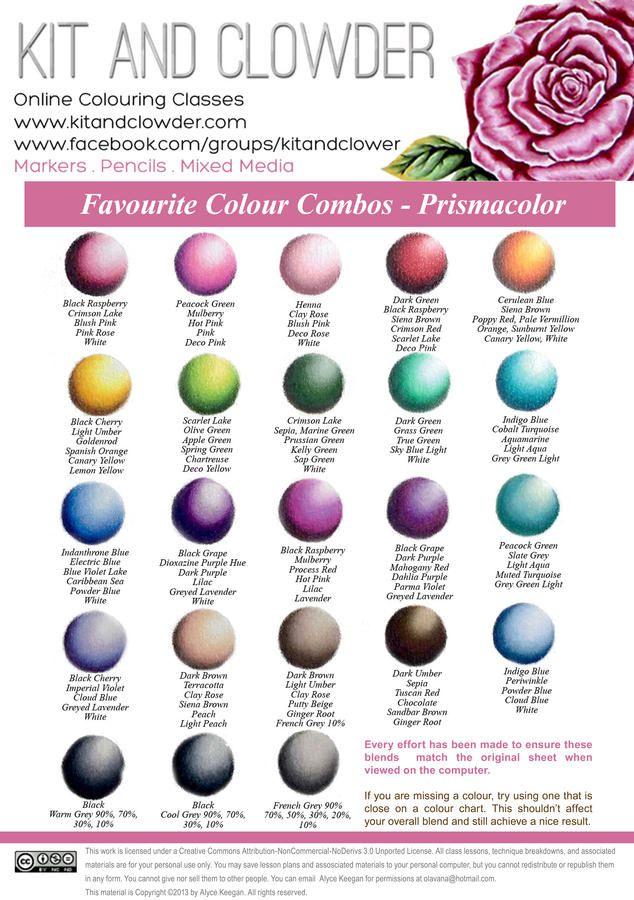 Prisma Color Blends   Colored Pencil Art   Pinterest   Lapices ...