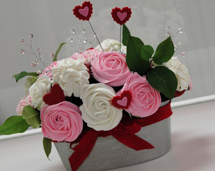 We can create a custom bouquet with a variety of container sizes ...