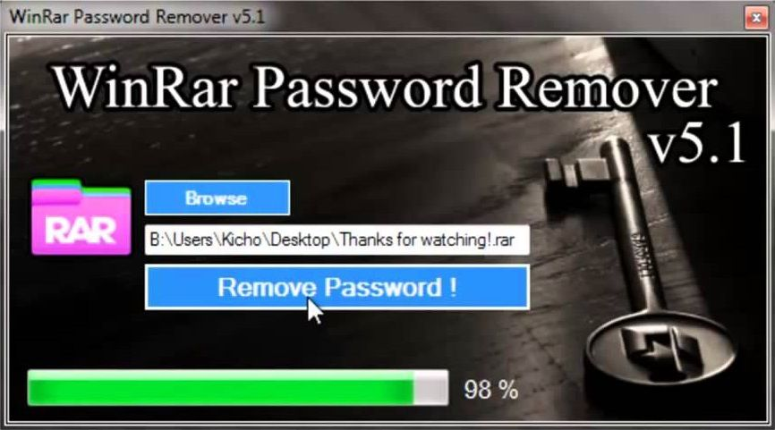Win rar password hacker | cRARk  2019-03-03