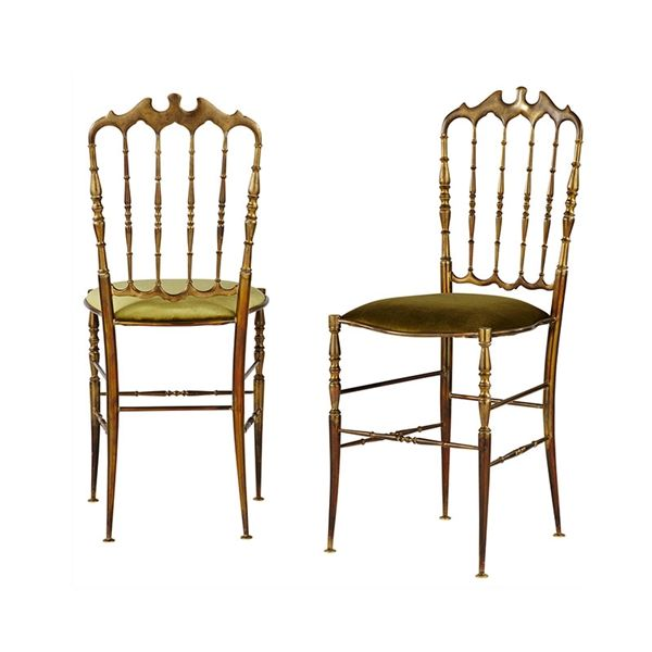 Pair Of Vintage Opera Chairs | SO3008 | Schumacher Antiques