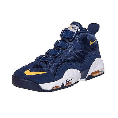check out b4f70 945cb Nike Air Max Sensation Fab Five Mens 805897-400 Navy Basketball Shoes Size  10