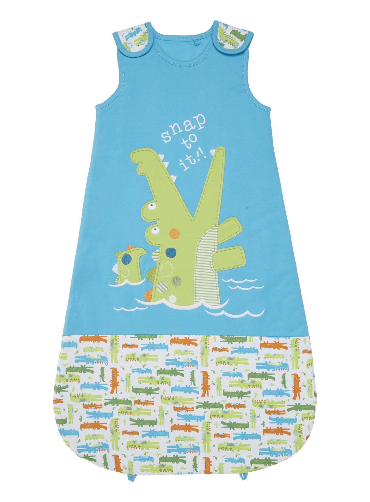 free shipping 7405e 287a0 Baby Boys Green Printed Sleeping Bag (0-24 months) | Tu ...