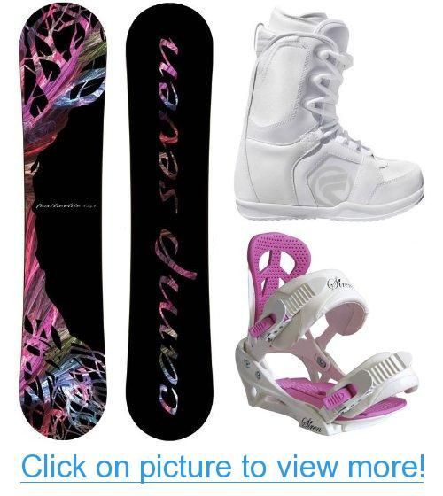 NEW 2014 Featherlite Women's Snowboard Package Leaf
