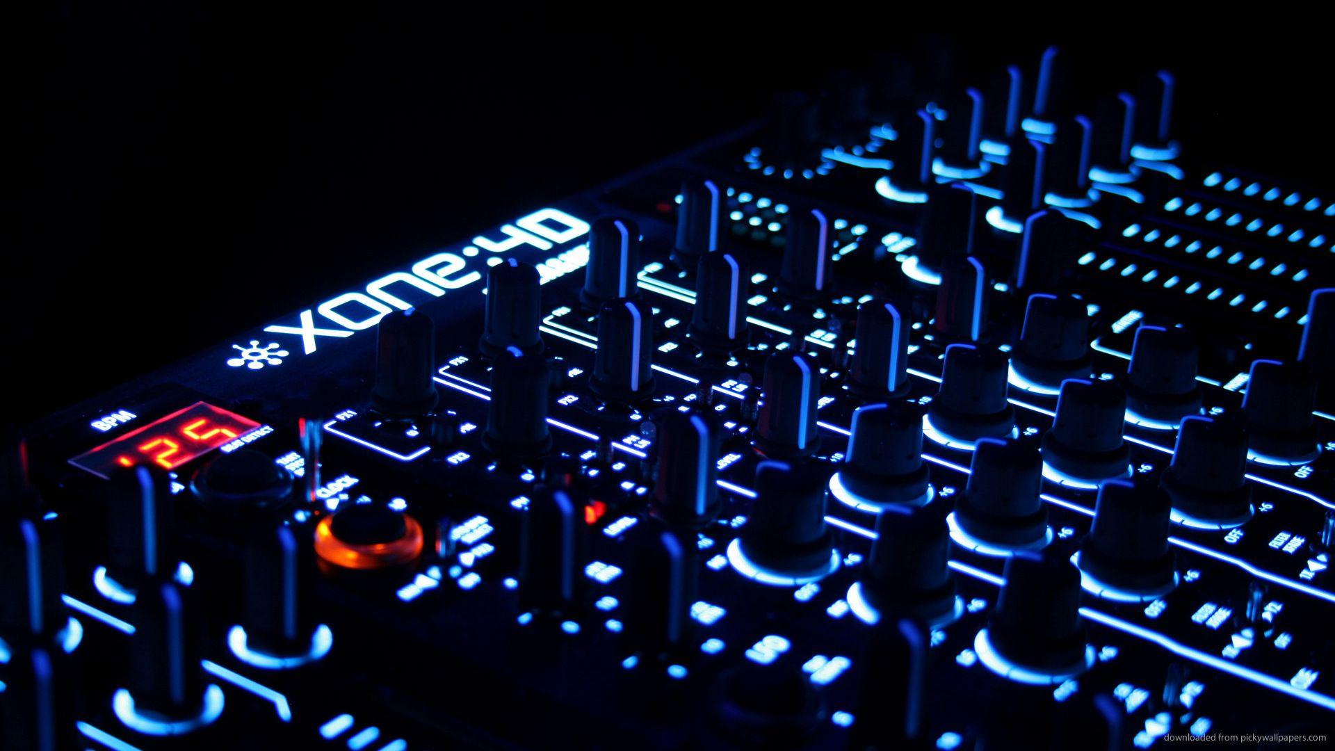 table de mixage wallpaper