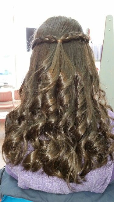 Beautiful Bat Mitzvah Hair Style In 2019 Bat Mitzvah Hair
