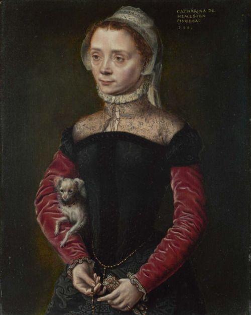1551 Catharina van Hemessen - Portrait of a Lady