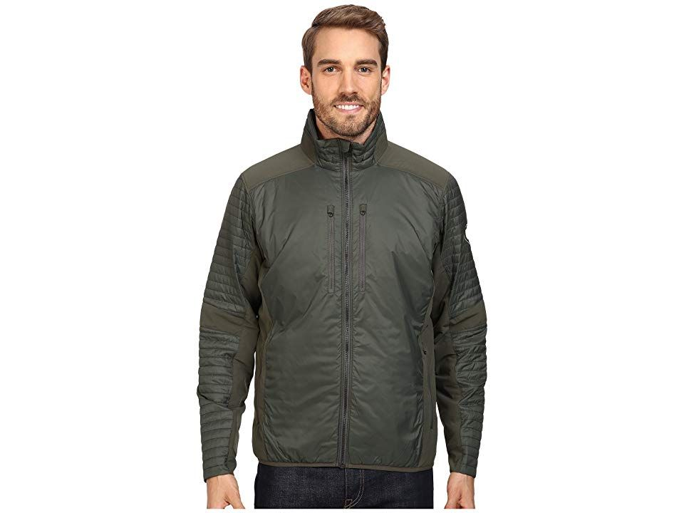 Kuhl Firefly Jacket Dark Forest Men S Coat When You Re Out On The Trail A Beacon Of Warmth On Those Long Chilly Clothes Free Clothes Animal Print Dresses