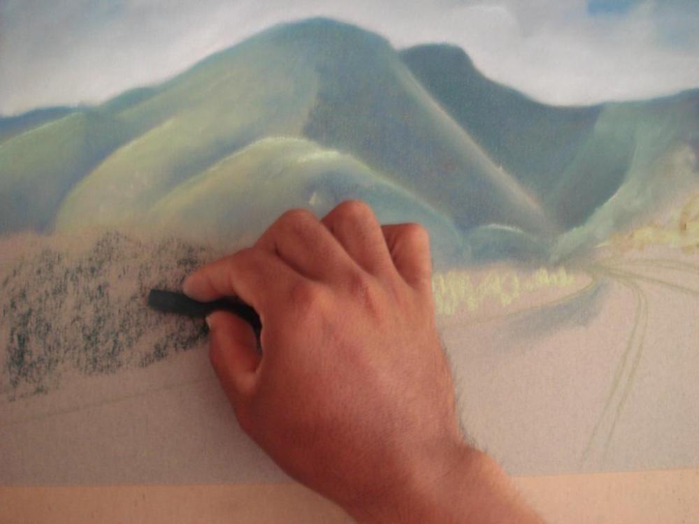Pinturas Pastel Dibujo Tecnica Tutoriales Totenart Pintar Con Pastel Pastel Dibujo Como Pintar