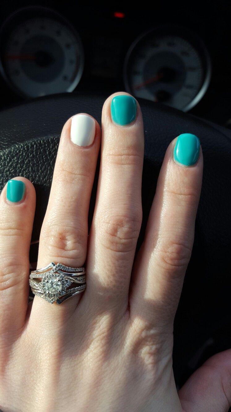 Simple cute natural summer nail color designs nail color