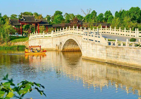 Visit Suzhou,China (@suzhouvisit) Twitter landscapes Pinterest - chinesischer garten brucke
