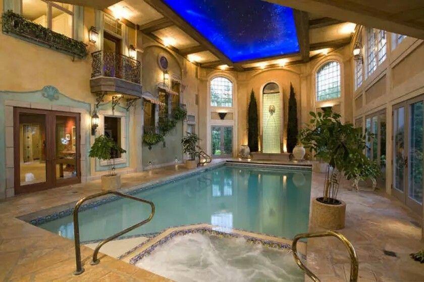 Dream indoor pool!!! Best indoor pool design I have ever come across