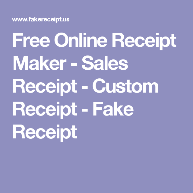 free online receipt maker sales receipt custom receipt fake receipt breakoutedu pinterest receipt maker