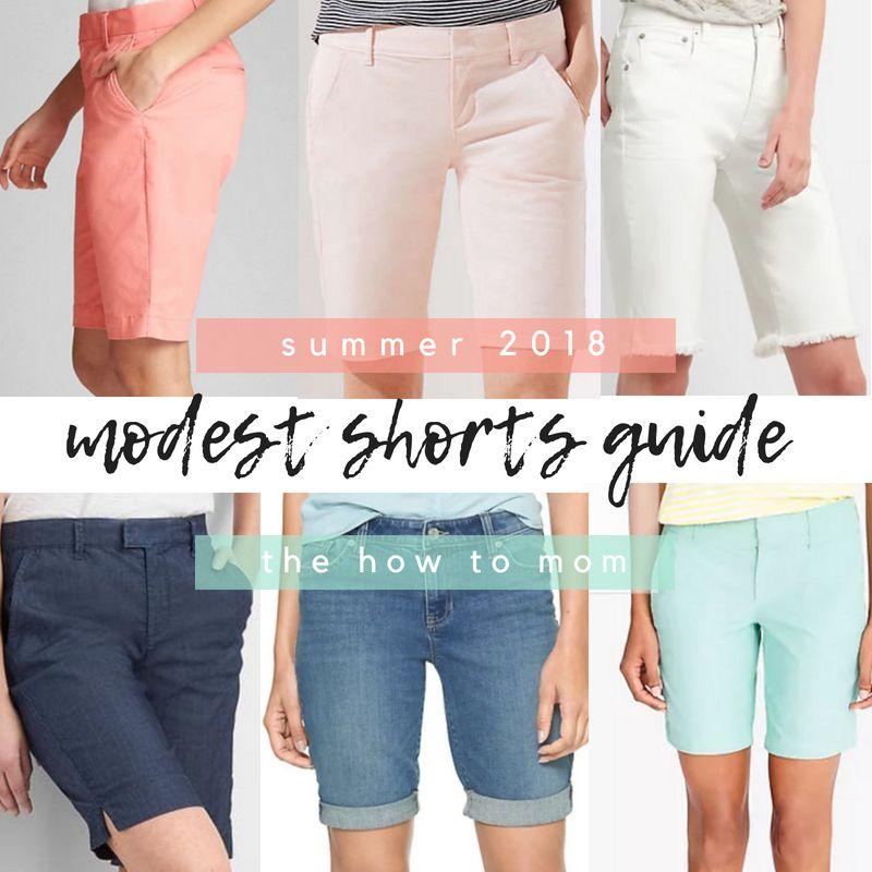 Perfect Modest Shorts – Summer 2019