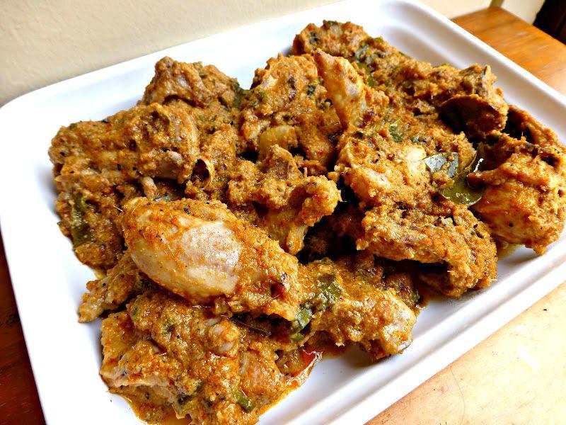 Resepi Rendang Ayam Daun Limau Purut Sedap Tube Recipe Recipes Chicken Wings Food