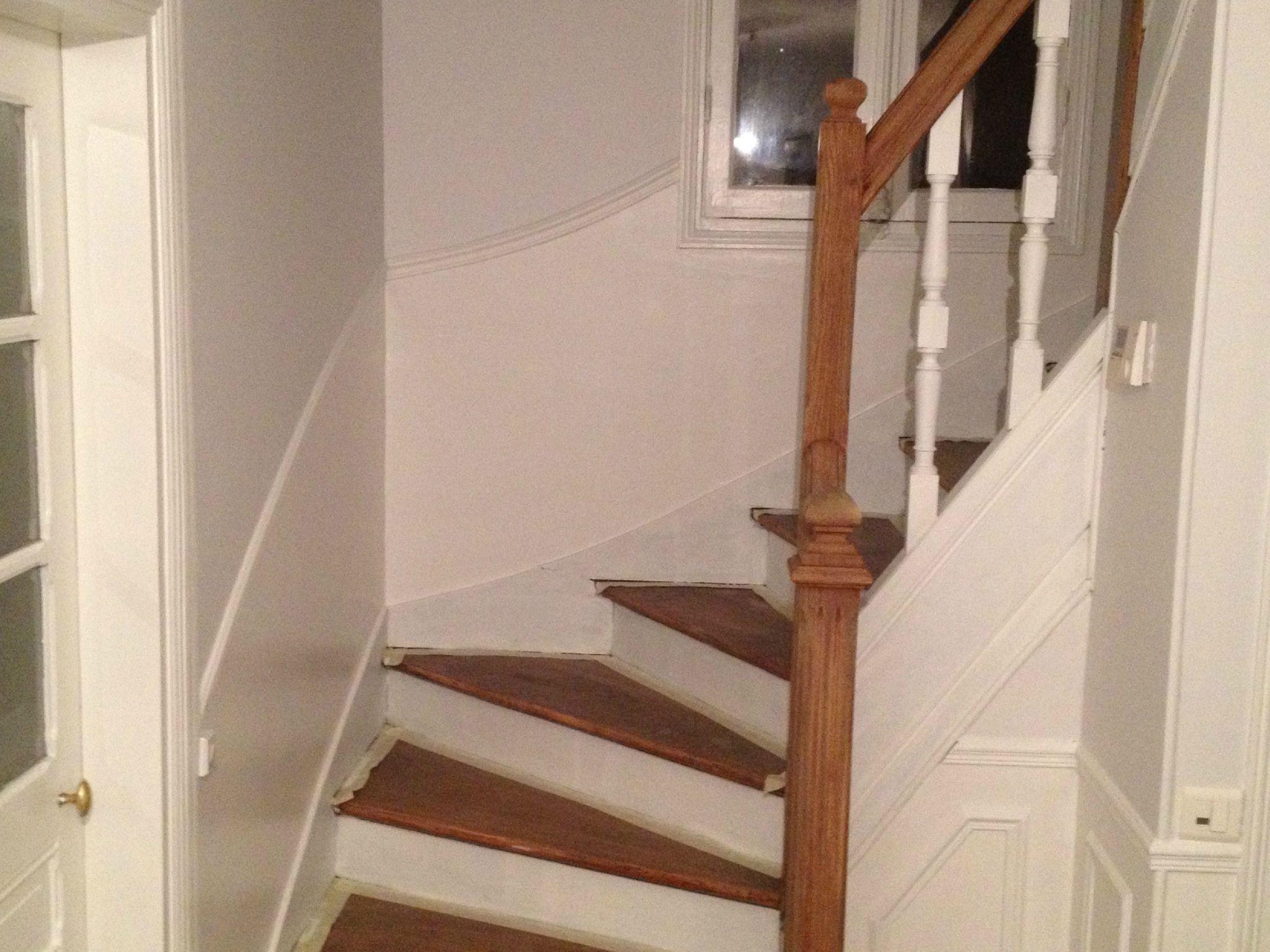 achat escalier perfect idmarket meuble de rangement escalier niveaux bois blanc avec porte et. Black Bedroom Furniture Sets. Home Design Ideas