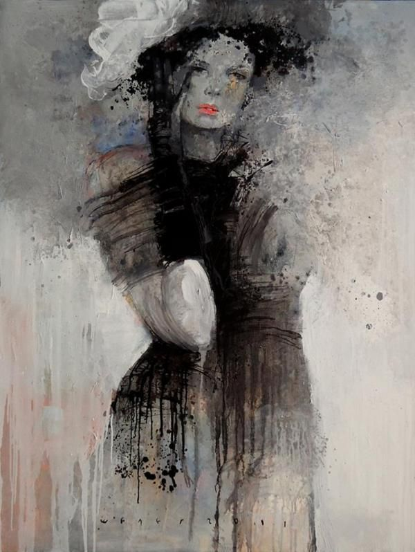 Women paintings by Viktor Sheleg