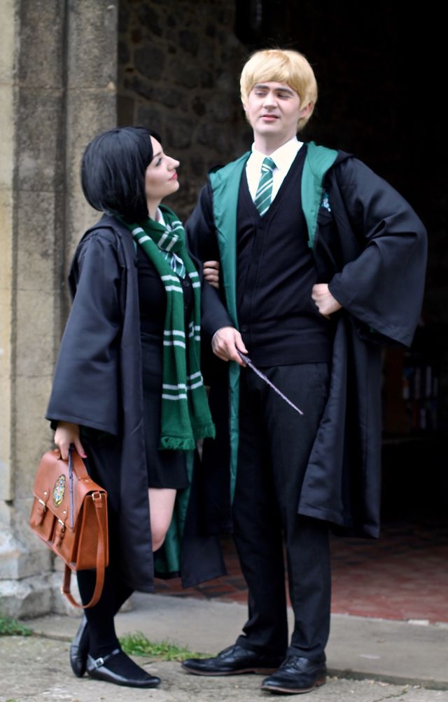 Slytherin Into Halloween With Images Easy Homemade Halloween