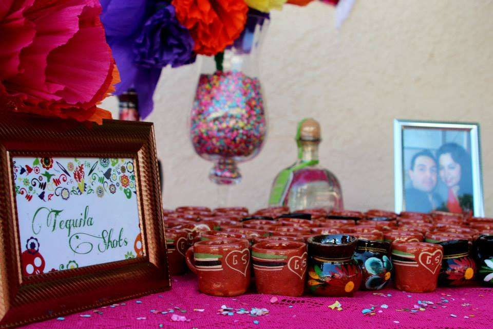 purple themed bridal shower%0A Mexican bridal showers