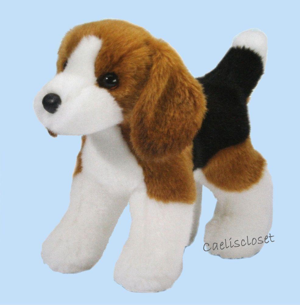 Douglas Dellwood Beagle 10 Plush Stuffed Tri Color Hound Dog Cuddle Toy New Plush Beagle Dog Cuddles Beagle Dog [ 1000 x 985 Pixel ]