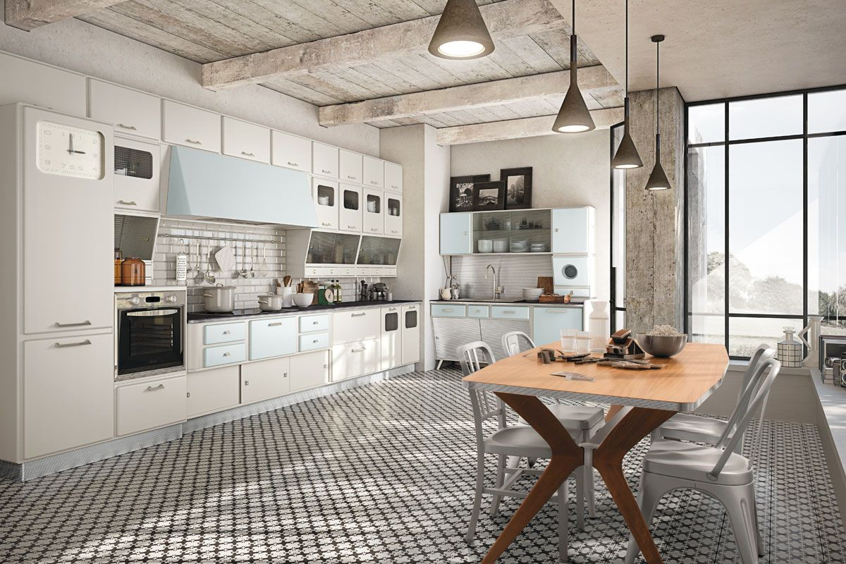 Marchi Group - Fifties Style Kitchen - Saint Louis. Pinned by Secret ...