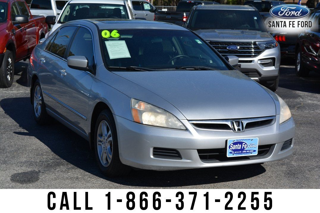 Used 2006 Honda Accord EXL Sedan For Sale Gainesville FL