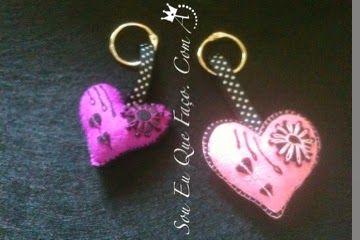 Sou Eu Que Faço. Com Amor: Porta-chaves Estes são alguns dos meus trabalhos a...
