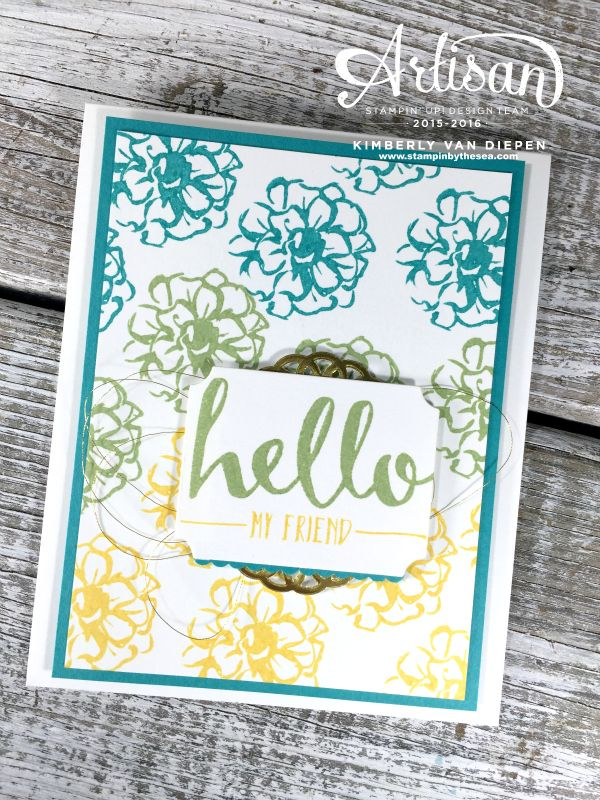 What I Love Stamp Set Hello Stampin Up