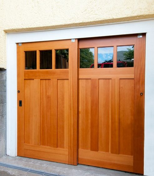 Cheap Studio Apartments Reno: Barn Door Garage Doors And Accessories Required