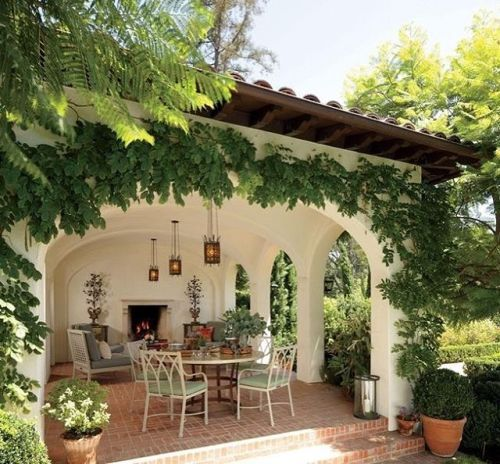 Un dia. | outdoor | Pinterest | Patios, Spanish and House