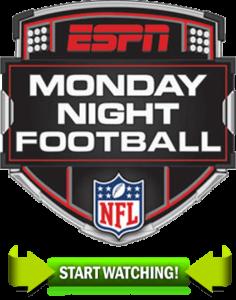Monday Night Football Live Monday Night Football Football Logo Monday Night