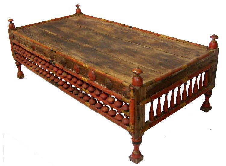 177x77 Cm Antik Afghan Wohnzimmertisch Orient Teetisch Tisch Couchtisch Diwan