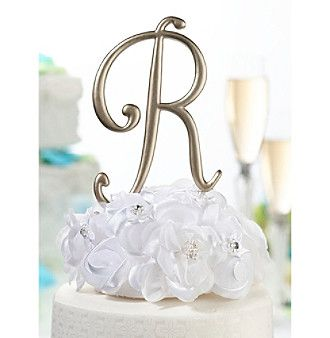 Lillian Rose® Gold Monogram