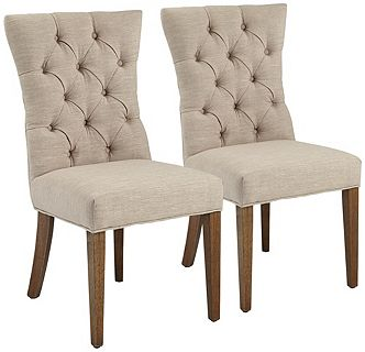 www.55downingstreet.com/products/966/4P287.aspx I want you to see Elsinor Natural Linen Armless Accent Chair Set of 2 at 55 Downing Street. This design is only available for a limited time, so visit now.