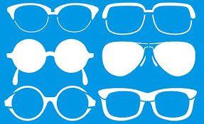 Resultado de imagem para moldes de oculos para imprimir   molde ... 26140704de