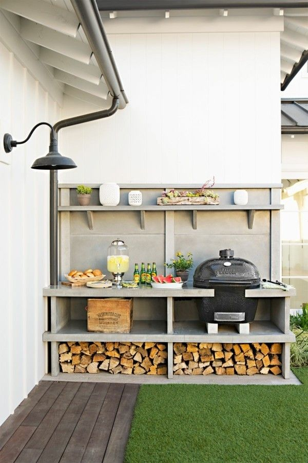 Photo of Stai pianificando una cucina all'aperto e un salotto da giardino? Ecco alcune varianti chic!