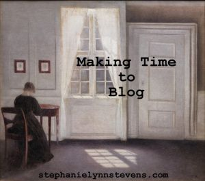 Tips for busy women who want to make time to blog.