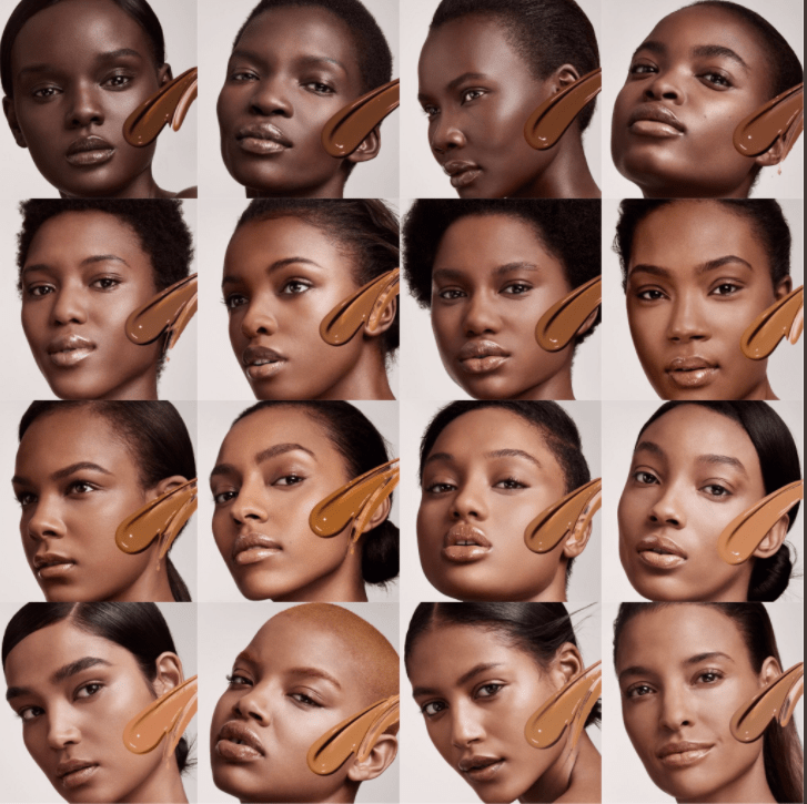how to find your foundation color online