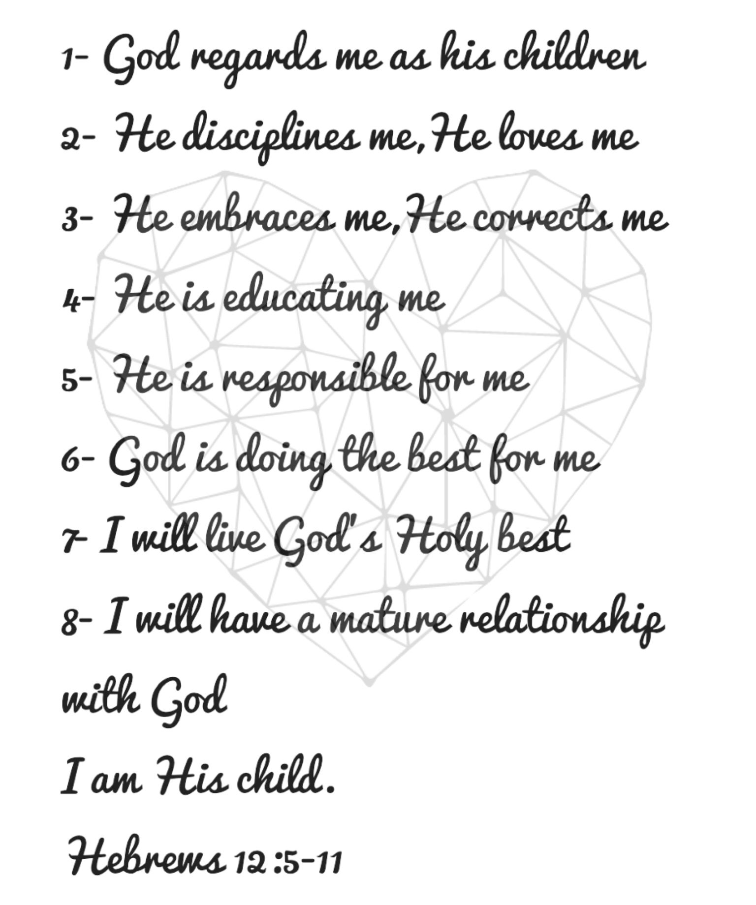 He Loves Me Quotes Hebrews 12511 Breaking Free  Beth Moore I Am A Child Of God He