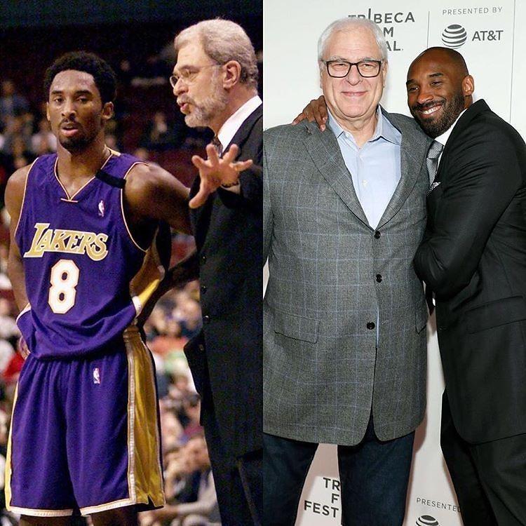 regram @mamba24ever  Happy Birthday to the Zen Master   _  #kobe #HappyBirthday #PhilJackson #Zenmaster #Lakers http://ift.tt/2f3coNH