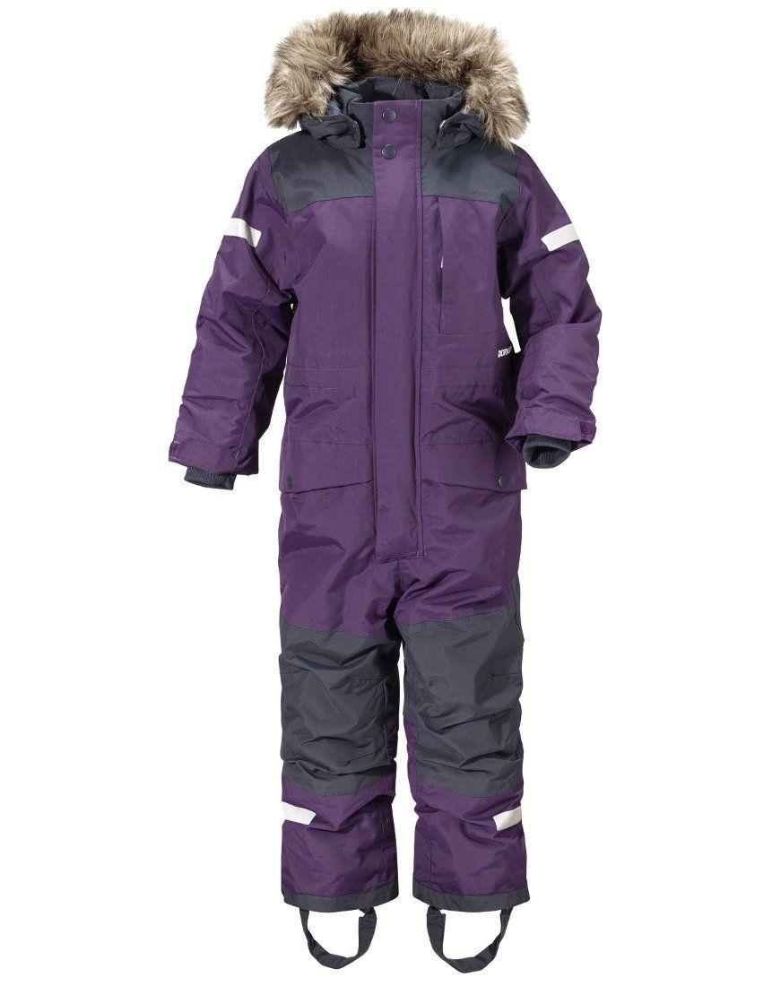 a0db0ffbe Didriksons Bjornen 2 Kids Snowsuit - Berry Purple