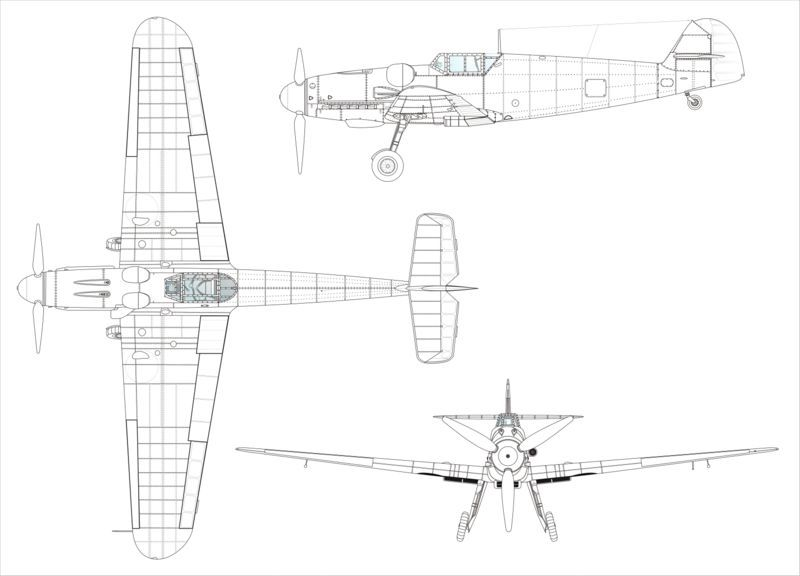 messerschmitt bf 109 coloring pages - photo#6