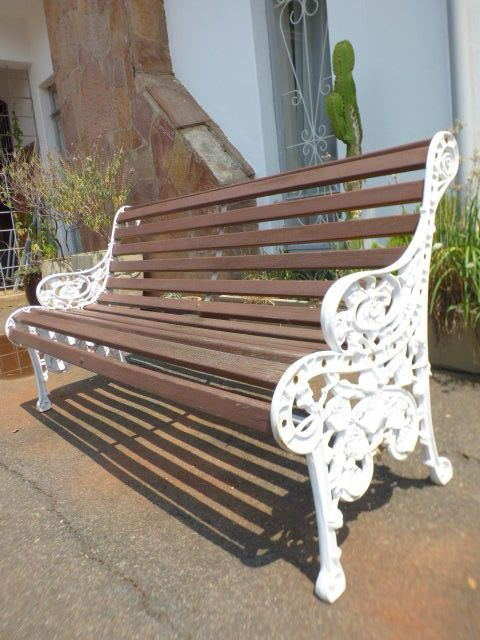Superb A Stunning And Sturdy 3 Seater Wooden Outdoor Bench With A Spiritservingveterans Wood Chair Design Ideas Spiritservingveteransorg
