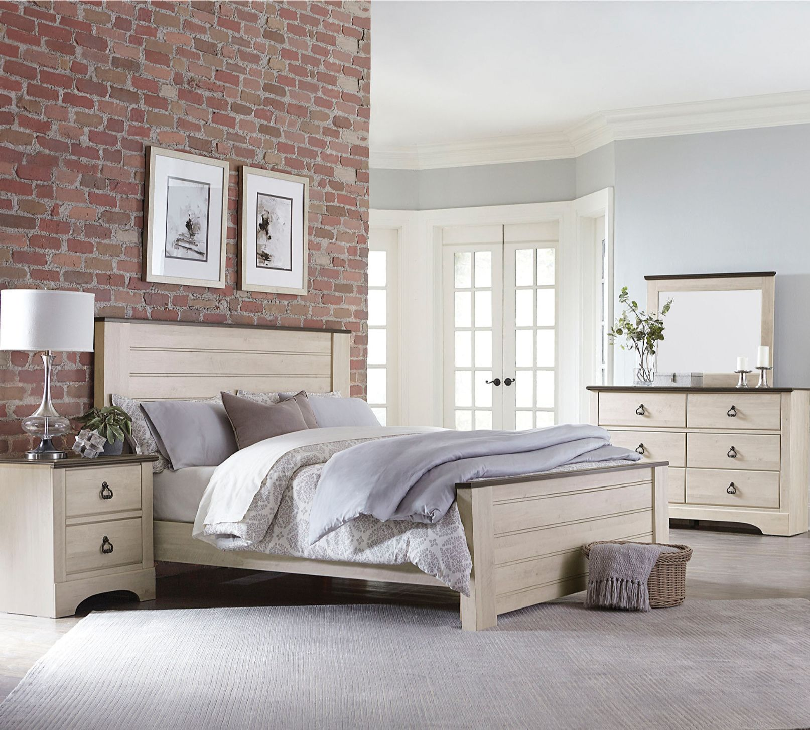 Farmhouse Style for the Bedroom  Bedroom set, Redecorate bedroom