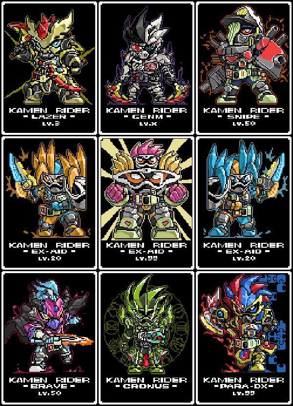 Cool Kamen Rider Ex Aid Wallpaper Ponsel Fantasi Gambar