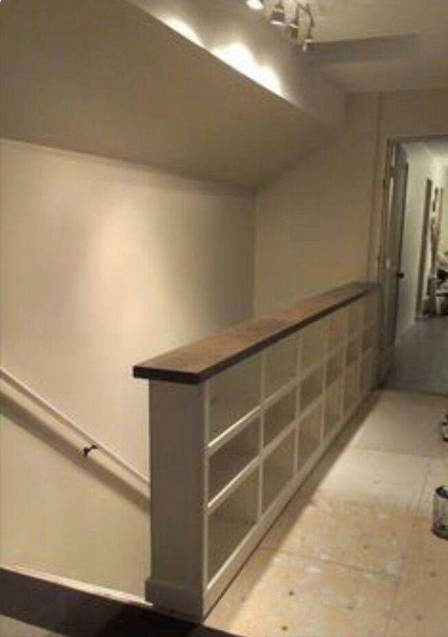 Mueble librería para separar bajada a sotano   Mi loft   Pinterest ...