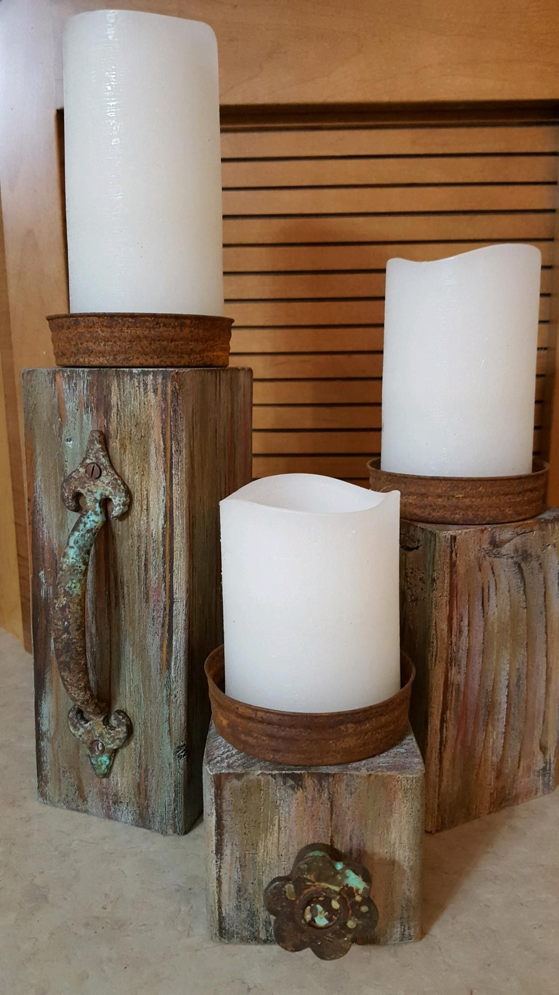 45 Modern Home Pillar The Most Widely Used Alte Kerzen Holz