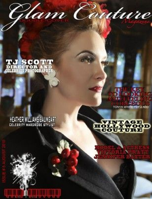 Vintage Couture Magazine Covers | Glam Couture Magazine : Double cover issue Glam/Vintage Couture